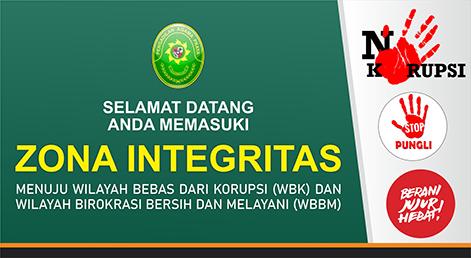 Zona Integritas Pengadilan Agama Praya