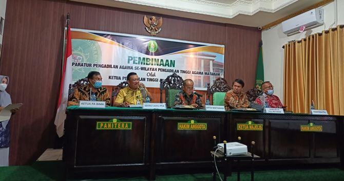Ketua PA Praya Ikuti Rapat Koordinasi Dengan Pengadilan Agama Se-Wilayah PTA Mataram Di Bima | (25/10)